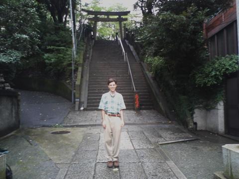 A gate to an urban oasis